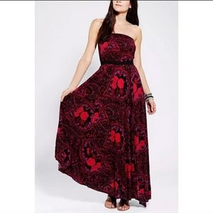 Urban Outfitters Ecote Strapless Maxi Dress XS